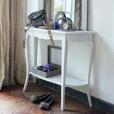 Consola de madera de paulonia blanca 98 ... - Joséphine   Konsoler