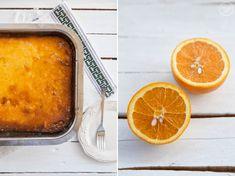 Εύκολη Πορτοκαλόπιτα Greek Recipes, Cornbread, Lasagna, Recipies, Deserts, Sweets, Baking, Ethnic Recipes, Lemon