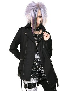 HARNESS ROCK Riders Jacket   CDJapan. See more at http://www.cdjapan.co.jp/apparel/sexpot.html #punk #japanesefashion