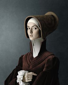 """From the """"1503″ portrait series, created by by Swiss/Italian photographer Christian Tagliavini, 2010"""