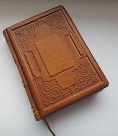ALTRAN -kožený zápisník - ručne viazaný - starožitný dizajn -rozmer: 15,5 x 11cm
