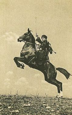 Russian Cossack Horsemanship