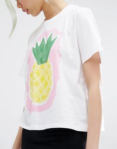 Monki Pineapple Prin
