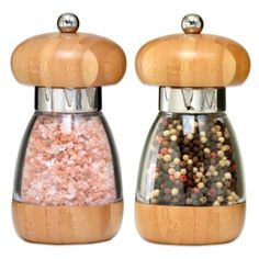 William Bounds Mushroom Bamboo Salt and Pepper Mills - BedBathandBeyond.com