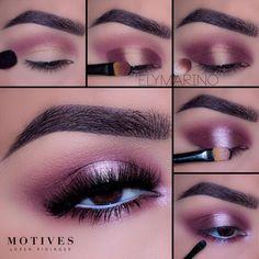 Gorgeous Makeup: Tips and Tricks With Eye Makeup and Eyeshadow – Makeup Design Ideas Purple Eye Makeup, Skin Makeup, Eyeshadow Makeup, Makeup Monolid, Purple Lips, Gel Eyeliner, Eyeshadows, Makeup Geek, Makeup Addict