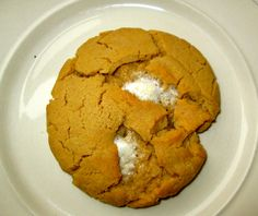 """Double Peanut Butter Marshmallow Cookie!  Recipe moderated from: """"Peanut Butter Chocolate Chunk Cookies with Marshmallow Center"""" thenovicechefblog.com"""