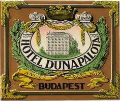 Ungheria - Budapest - Dunapalota