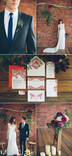 Urban Bohemian Wedding Inspiration