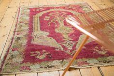 3 5x4 5 Antique Karabagh Square Rug Quadratische Teppiche