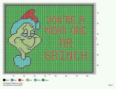 PLACEMAT GRINCH by JODY