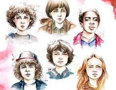 Stranger things fan artwork stranger things season two, stranger th Stranger Things Monster, Stranger Things Tattoo, Stranger Things Characters, Stranger Things Kids, Stranger Things Halloween, Stranger Things Aesthetic, Stranger Things Netflix, Stranger Things Season Two, Animation