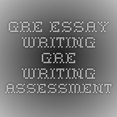 Gre essay writing help