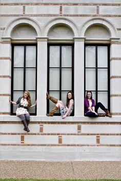 2 by mar6love, via Flickr  cute idea for senior girl group