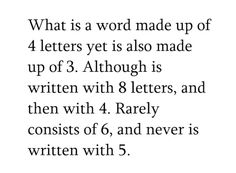Just figure it out... hint, put a different emphasis on the words!