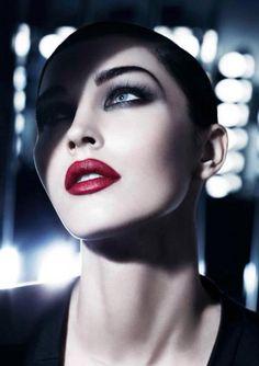 Megan Fox Giorgio Armani Beauty Ad Campaign upcoming ideas for beauty story Glam Makeup, Beauty Makeup, Face Makeup, Hair Beauty, Armani Makeup, Dramatic Makeup, Glamorous Makeup, Girls Makeup, Gorgeous Makeup