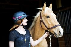 """Troxel's product ambassador, 14 year-old Megan Sparks, has been running barrels from the age of 3. She is a 4-time state youth champion and a 2012 IBRA National Finals 1D money winner. She exclusively shares her experiences of wearing a helmet in a rodeo world known for its """"rough-around-the edges"""" persona."""