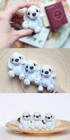Amigurumi Puppy #amigurumi #amigurumipattern #crochettoy #stepbystep