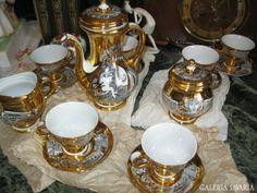 Endre Szász work - Hollóháza porcelain - Hungary Chopstick Rest, Pot Sets, Tea Service, Coffee Set, Dinnerware Sets, Chocolate Coffee, China Porcelain, Earthenware, Fine China