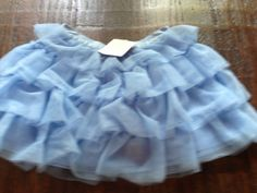 NWT Janie And Jack Blue Tulle Dress 12-18 Months #JanieandJack