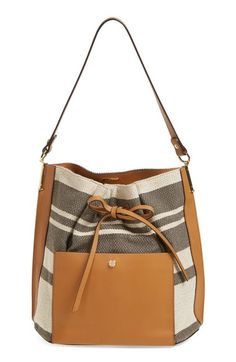 533807ea2d Louise et Cie 'Large Lucie' Bucket Bag available at #Nordstrom White  Shoulder Bags