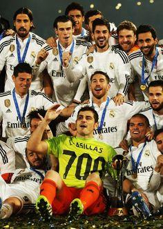 Las 700 de Casillas y la de la posteridad para las campeones de la Copa Mundial de Clubes FIFA, Marruecos (2014): Real Madrid.