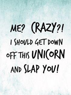 me crazy unicorn - Google Search