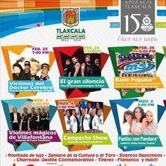 #Feria #Apizaco #Tlaxcala 2016  Más informacion en Vivetlaxcala.com