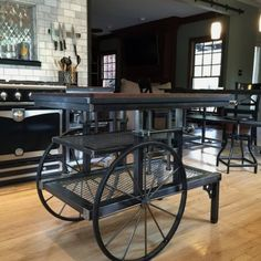 Stunning Industrial Furniture Ideas To Give Your Home Spaces A Stylish Touch Industrial Furniture Design No. 9821S  #homeindustrialdecor #industrialfurniture #industrialdecor