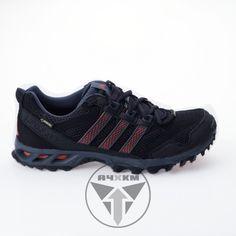 Zapatillas Adidas Kanadia TR 6 de trail running para hombre en color negro.   Versión de la Kanadia con membrana impermeable y transpirable Gore-Tex. http://acuatrosport.com/producto/_/zapatillas-de-trail-running-adidas-o3-g97332-negro-hombre-unisex.html