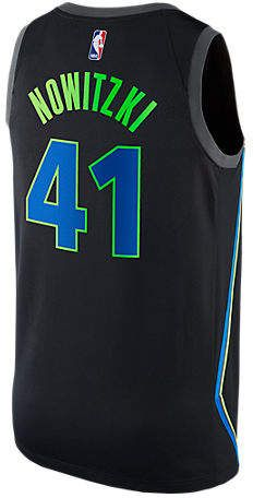 Men s Nike Dallas Mavericks NBA Dirk Nowitzki City Edition Connected Jersey 336e16d19