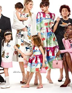 ALALOSHA: VOGUE ENFANTS: Dolce&Gabbana Fall Winter 2015-2016 runway collection, for a stunning double statement this fall