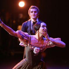 "Diana Vishneva (Mariinsky Ballet) as ""Tatiana"" and Alexander Volchkov (Bolshoi Ballet) as ""Onegin"" choreography by John Cranko"