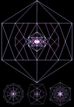 """El fractal cósmico de la """"estrella madre"""" (la estalación icosa-dodeca)  - Psicogeometría y Geometría Sagrada -"""