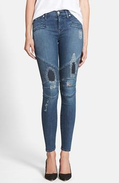 Hudson Jeans 'Shelby' Skinny Jeans (Headliner) available at #Nordstrom