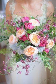 Gorg. Garden Roses - Wedding Bouquet