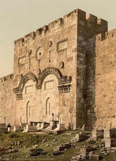 The Golden Gate (exterior), Jerusalem, Holy Land