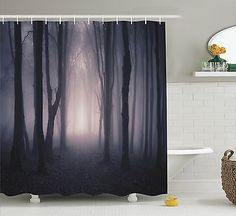 Sex Women Red Lips Man Cave Bathroom Shower Curtain Extra Long 84 Inch White
