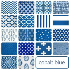 Cobalt Blue Drapery Panels. 25 And 50 Width. 63 By Thebluebirdshop