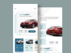 Car Rent App UI by Raf Redwan for Crunchy on Dribbble Mobile Ui Design, App Ui Design, Web Design, Best Car Rental Deals, Car App, Car Repair, Money, Advertising, Car Sales