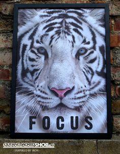 FOCUS - A2 High Quality Motivational Poster – CutAndJacked Shop
