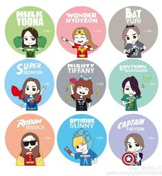 Cartoon #SNSD