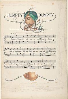 """Humpty Dumpty""  Paul Vincent Woodroffe  (British (born India), Madras 1875–1945 Eastbourne)"