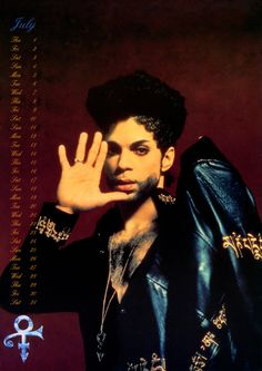 Classic Prince • 1993 Danielo Calendar JULY - Excellently scanned large format Danielo Calendar which spans Prince's Diamonds & Pearls and O(+> Album era! I didn't scan these another meticulous thoughtful fan did, I believe it was a lady by the name of 'Sahir' if I remember correctly, many thanks to that fan! INJOY! .::Modernaire 2015