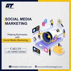 Helping businesses with social media marketing  #SMM #SocialMedia #DigitalMarketing #OnlineMarketing #ContentMarketing  #Swork  #SworkTechnologies #SworkStudio #SworkEvent Digital Marketing Services, Online Marketing, Content Marketing, Social Media Marketing, Business, Store, Inbound Marketing, Business Illustration