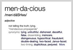 Mendacious Ya think? Unusual Words, Rare Words, Big Words, Words To Use, Unique Words, Powerful Words, Cool Words, English Words, English Language