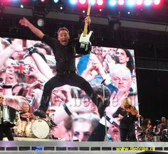 Bruce Springsteen and his extraordinary, fantastic, incredible, implausible, sensational, unbelievable  AIR  TIME.   .   .   .   .   .   .   thesamiposts