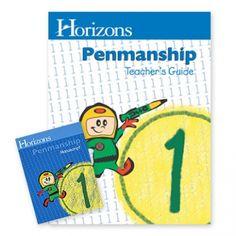 Horizons Penmanship Practice Sets