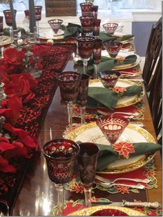 The Tablescaper - Christmas luncheon tablescape