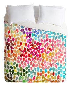 Look at this Rain 6 Duvet Cover on #zulily today!