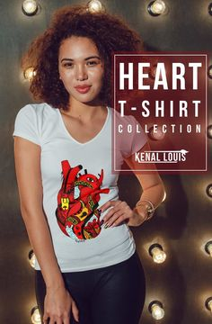 The Most Creative Heart T-Shirts Design You'll Love As Gift Ideas Heart Artwork, Creative Birthday Gifts, Human Heart, Heart Shirt, Queen, Senior Portraits, Unique Art, Art Direction, Family Photos